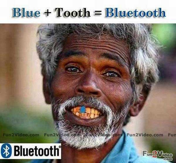 Blue Tooth Bluetooth Funny Image