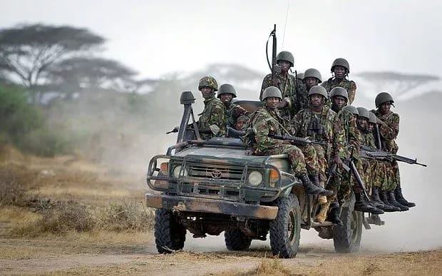photos of KDF killed in somalia