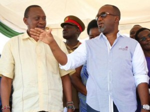 I WILL NOT LICK YOUR BOOTS,GOVERNOR ALI HASSAN JOHO TELLS UHURU AFTER SNUB