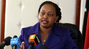 ANN WAIGURU:I WILL NOT CARRY OTHER BIG FISH BURDEN. WE SHALL SINK TOGETHER