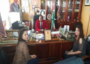 MIKE SONKO VISITED BY TWO ERITREAN WOMEN IN STATE HOUSE