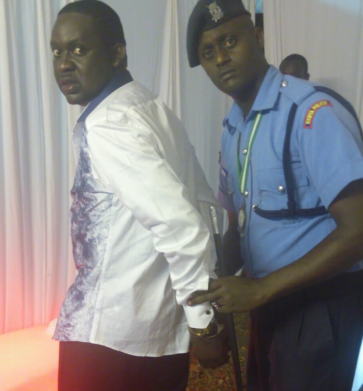 CHURCHILL SHOW HOST ARRESTED FOR DOING UNBELIEVABLE
