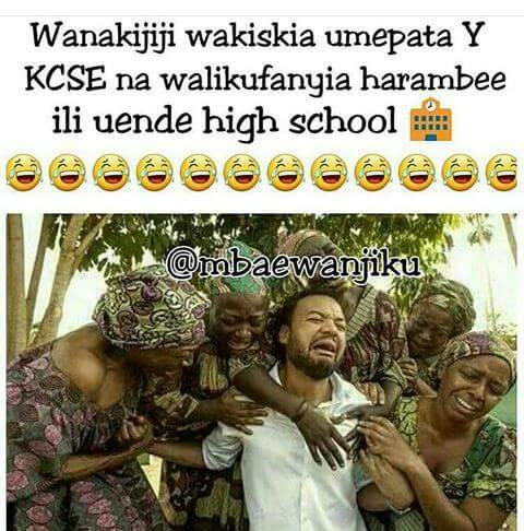 KCSE RESULTS FUNNY COMEDY JOKES IN SOCIAL MEDIA