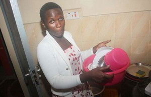HOUSEHELP IN NAIROBI SCORES B+ IN KCSE. INSPIRING INDEED