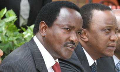 KALONZO HOLDS SECRET MEETING WITH UHURU.