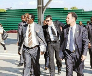 Raila Israel retired commandos bodyguards