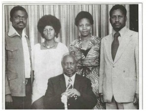 RAILA AND IDA ODINGA IN THEIR YOUTH