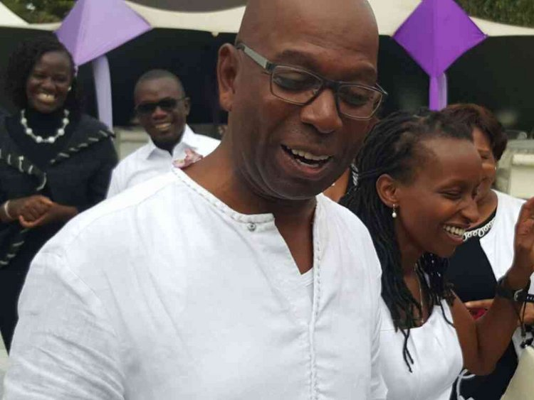 bob collymore wedding and how he snatched wife wamboi