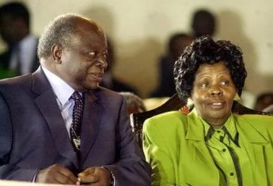 FORMER FIRST LADY LUCY KIBAKI PASSES ON