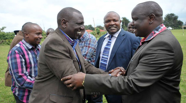 ISAAC RUTO BEGS DP WILLIAM RUTO FOR FORGIVENESS