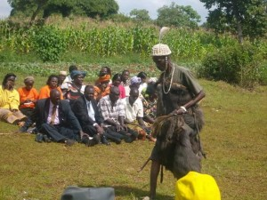 BUKUSU MAGICIAN STARTS WORK AHEAD OF JACOB JUMA BURIAL
