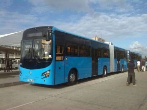 New Transit buses Magufuli Purchased to ease Jam in Tanzania
