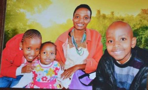 PAIN AS FAMILY WHICH LOST ALL 4 CHILDREN IN ACCIDENT