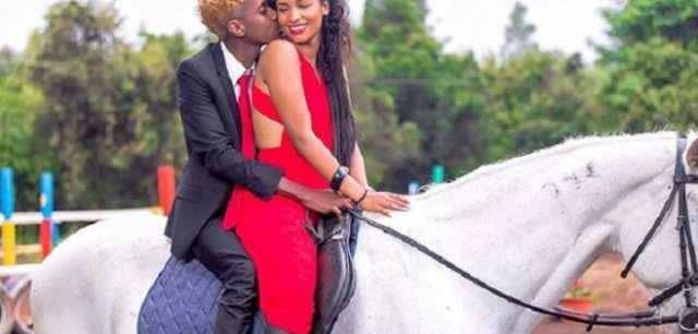 Erick omondi and his Italian fiancée, Chantal Grazioli are expecting.