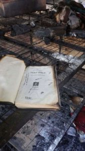 Bible refuses to be Burnt at nyamache boys high school fire