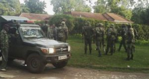 kapenguria police station under siege