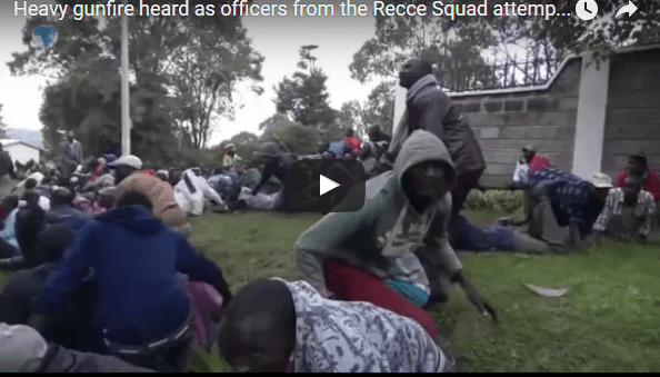 LIVE VIDEO SHOWING GSU RECCE SQUAD KILL KAPENGURIA TERRORIST IN SECONDS
