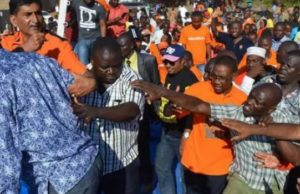 Raila attacked