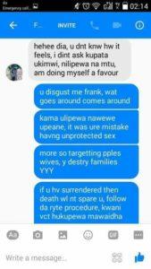 MAN BRAGS TO HAVE INFECTED 200 KENYAN LADIES WITH HIV