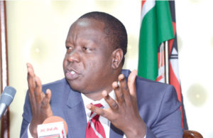 Fred Matiangi at Muranga county