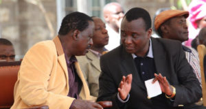 Gitobu Imanyara and Raila!!