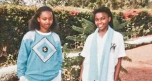 Ann Waiguru in High school