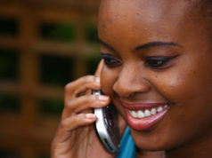 MAKING CALL IN KENYA