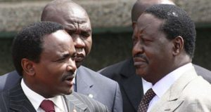 Raila nd Kalonzo in NASA