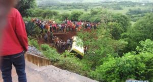 TEARS AFTER 35 PUPILS OF SAME SCHOOL PERISH IN ACCIDENT