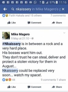 WAS NKAISSERY ASSASSINATED?? HERE IS MAN WHO PREDICTED HIS DEATH
