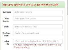 JKUAT: HOW TO APPLY FOR COURSE ONLINE