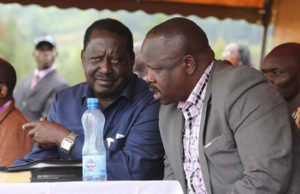 isaac ruto and Raila