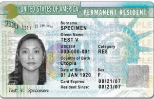 GREEN CARD LOTTERY 2019