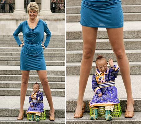 Meet The World Shortest Man And Cute Wife Chemistry Photos