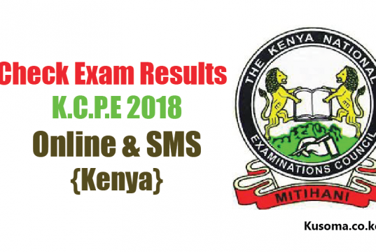 KCPE 2019 RESULTS